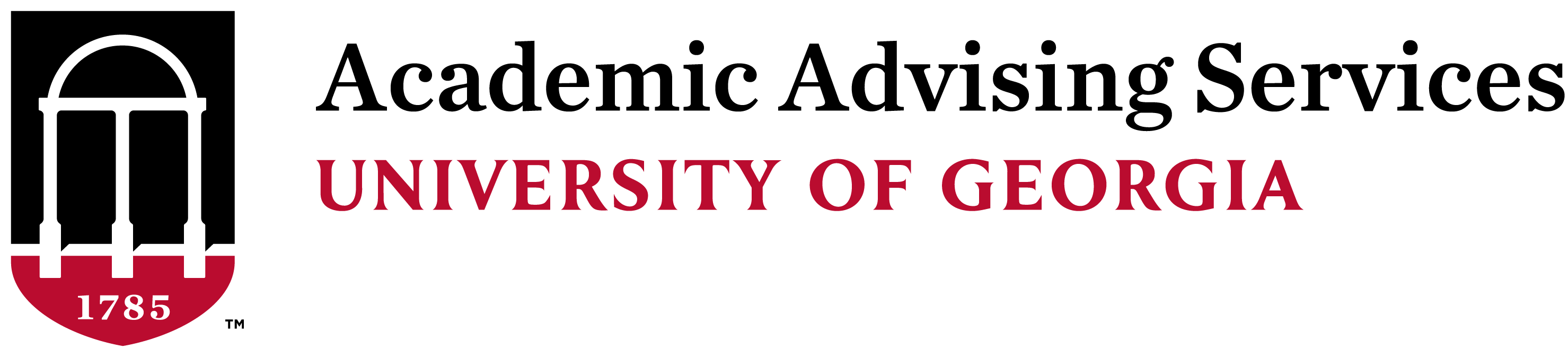 Academic Advising at University of Georgia Logo